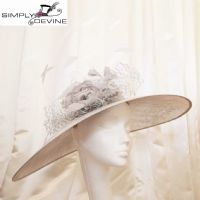 Wide brim silver grey hatinator 13980/SD31